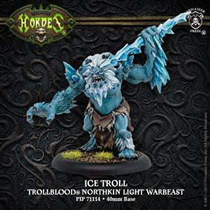 Trollbloods: Ice Troll Light Warbeast (Resin / Metal)