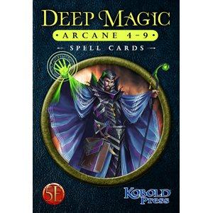 Deep Magic Spell Cards: Arcane 4-9 (5E Compatible) ^ Q4 2021