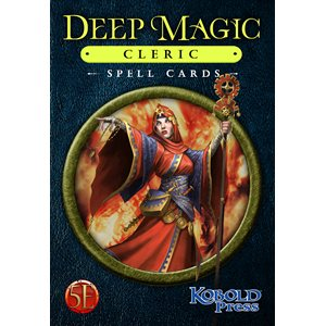Deep Magic Spell Cards: Cleric (5E Compatible) ^ Q4 2021