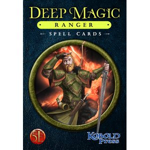 Deep Magic Spell Cards: Ranger (5E Compatible) ^ Q4 2021