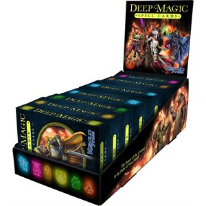 Deep Magic Spell Cards: Display Box (5E Compatible) ^ Q4 2021