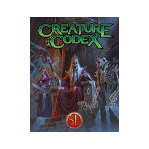 Creature Codex: (HC) (5E Compatible)