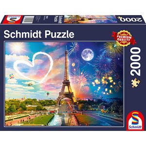 Puzzle: 2000 Paris, Day and Night