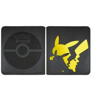 Elite Series: Pikachu 12-Pocket Zippered PRO-Binder for Pokémon