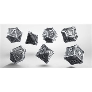 Metal Mythical Dice 7Pc