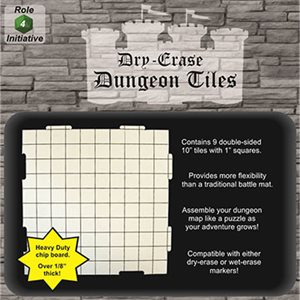 Dungeon Tiles - Pack of 9 ten inch squares