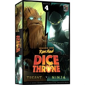Dice Throne: Season One: Treant vs Ninja (No Amazon Sales)