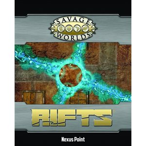 Savage Worlds: Rifts: Map: Nexus Point and Forest Glade
