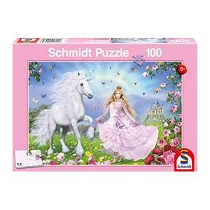 Puzzle: Child 100 Princess Of Unicorns