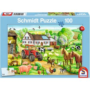 Puzzle: Child 100 Merry Farmyard