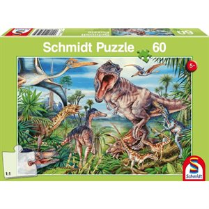 Puzzle: Child 60 Amongst the Dinosaurs