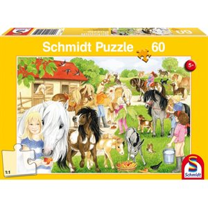Puzzle: Child 60 Fun at the Riding Stables