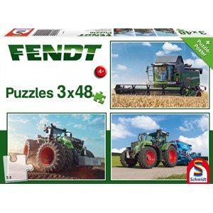 Puzzle: Child 3x48 Fendt