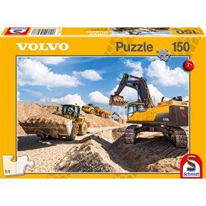 Puzzle: 150 Volvo L120GZ, A40F, EC750D