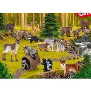 Puzzle: 150 Wildlife Where the Raccoons Live ^ Q2 2021