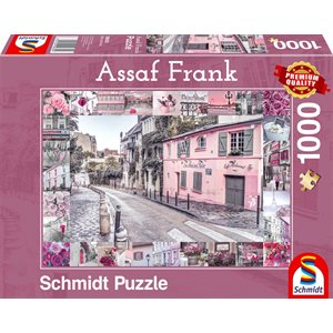 Puzzle: 1000 Romantic Journey
