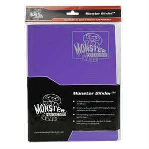 Monster Binder (9) Matte Purple