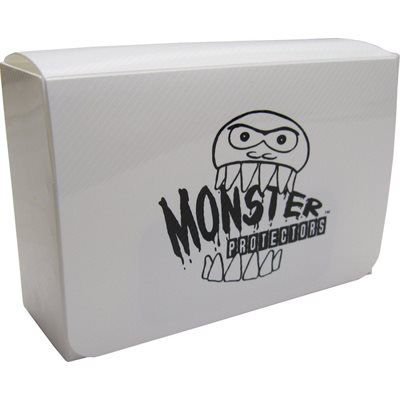 Deck Box: Monster Double Deck Box White