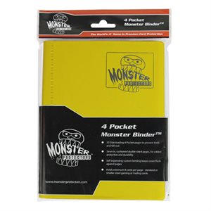 Monster Binder (4) Matte Yellow