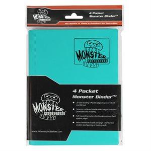 Monster Binder (4) Matte Teal