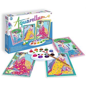 Aquarellum: Magic Canvas Large Japanese (Multi) (No Amazon Sales)