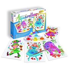 Aquarellum: Magic Canvas Junior Alice in Wonderland (Multi) (No Amazon Sales)