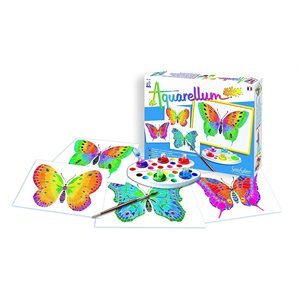 Aquarellum: Magic Canvas Junior Butterflies (Multi) (No Amazon Sales)