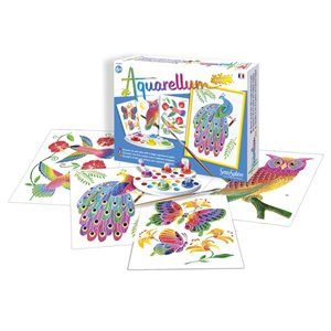 Aquarellum: Magic Canvas Junior In the Park (Multi) (No Amazon Sales)