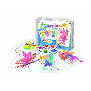 Aquarellum: Magic Canvas Junior Fairies (Multi) (No Amazon Sales)