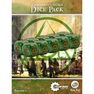 Guild Ball: Dice Pack (10) - Alchemist's Guild