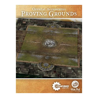 Guild Ball: Playmat - Proving Grounds