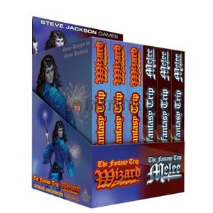 Fantasy Trip Melee & Wizard POP Display (BOOK)