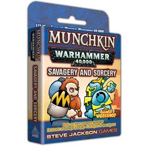 Munchkin: Warhammer 40k Savagery and Sorcery ^ July 2019