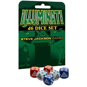Illuminati D6 Dice Set ^ July 2019