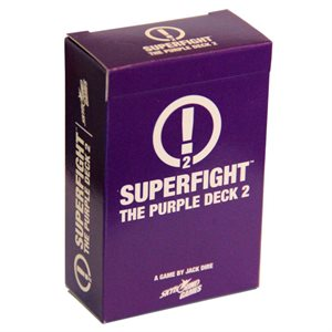 SUPERFIGHT: The Purple Deck 2 (Scenarios) (No Amazon Sales)