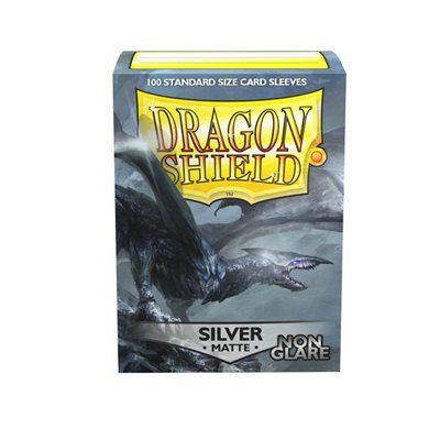 Sleeves: Dragon Shield Matte Silver NonGlare (100)
