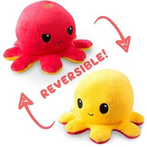 Reversible Octopus Mini Red / Yellow (No Amazon Sales)