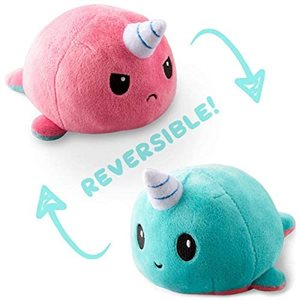 Reversible Narwhal Mini Light Pink / Light Blue (No Amazon Sales) ^ OCT 2020