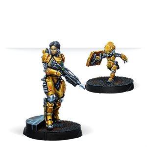 Infinity: Yu Jing: Tai Sheng, Zuyong Invincibles NCO (Breaker Rifle)