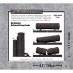 Battlefield in a Box: Storage Tanks (30mm)