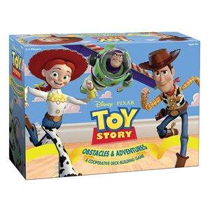 Toy Story Obstacles & Adventures: A Cooperative Deck Building Game (No Amazon Sales)