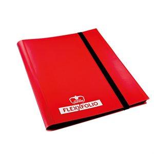 Binder: 9-Pocket Flexxfolio Red