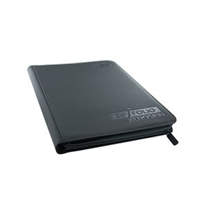 Binder: 9-Pocket Zipfolio Xenoskin Black