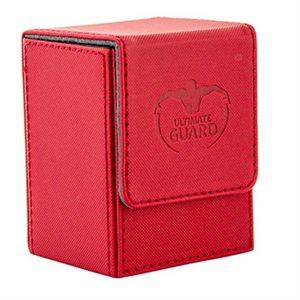 Deck Box: Flip Deck Case Xenoskin 80 Red