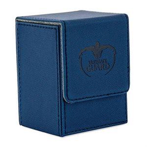 Deck Box: Flip Deck Case Xenoskin 80 Blue