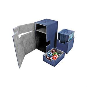 Deck Box: Flip N Tray Xenoskin 80 Blue