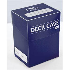 Deck Box: Deck Case 80Ct Blue