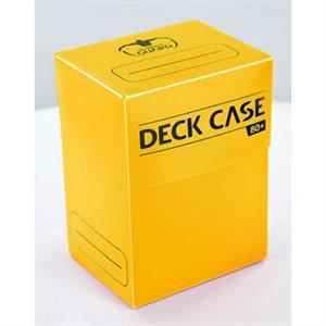 Deck Box: Deck Case 80Ct Yellow