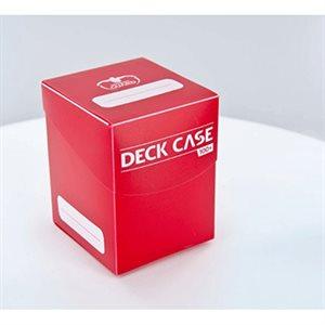 Deck Box: Deck Case 100Ct Red