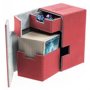 Deck Box: Flip N Tray Xenoskin 100 Red